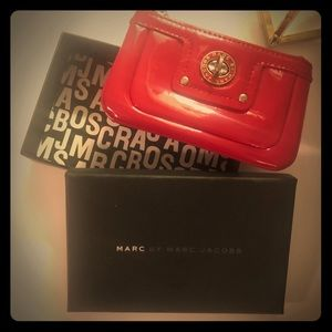 MARC BY MARC JACOBS Red Wallet Pouch